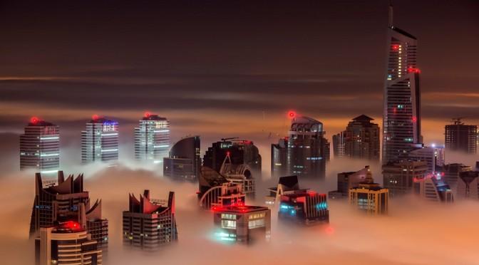 Dubai Sky Night
